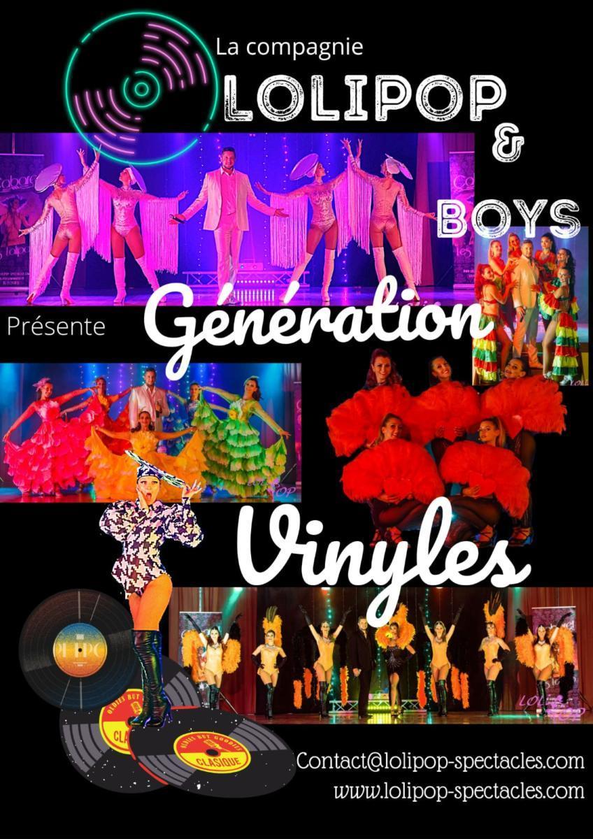 Affiche Lolipop GENERATION VINYLES