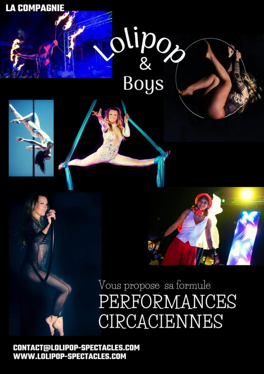Affiche Lolipop PERFORMERS